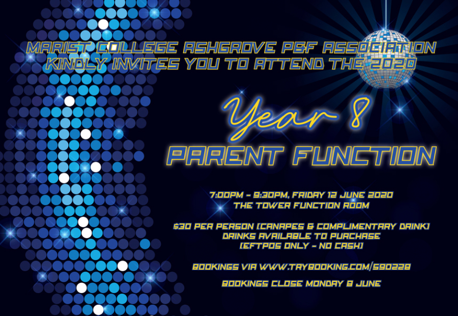 Year 8 Parent Dinner | 12 June 2020